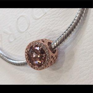 Pandora Charm Radiant Hearts Rose 💯%AUTHENTIC New